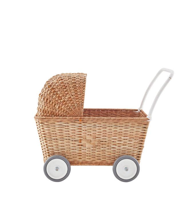 Poppenwagen - naturel