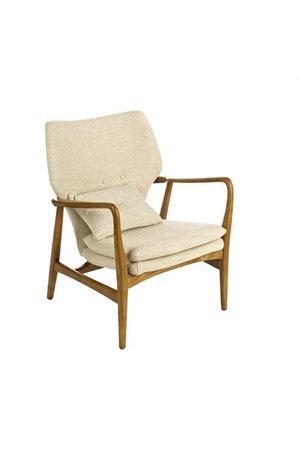 Chair Peggy - fabric rough ecru
