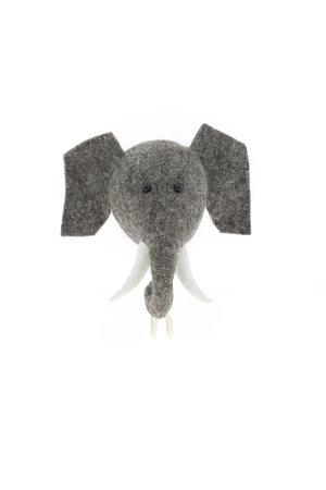 Fiona Walker England Dierenhoofd kapstok - olifant