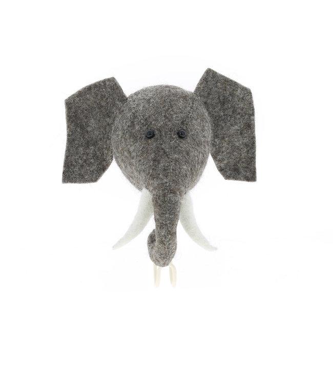 Dierenhoofd kapstok - olifant