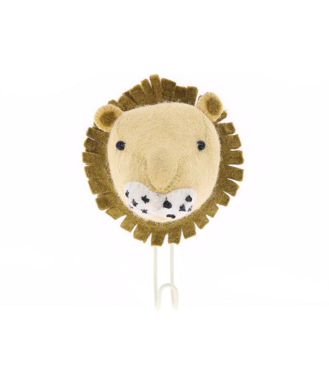 Big single head hook - lion