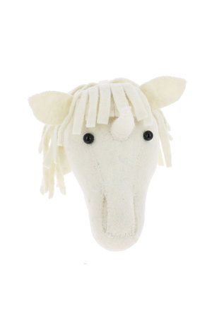 Fiona Walker England Animal head mini - unicorn