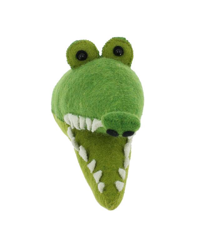 Dierenhoofd mini - krokodil