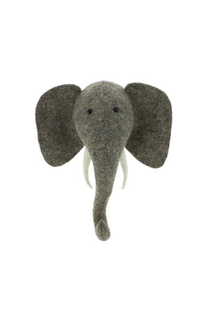 Fiona Walker England Animal head mini - elephant