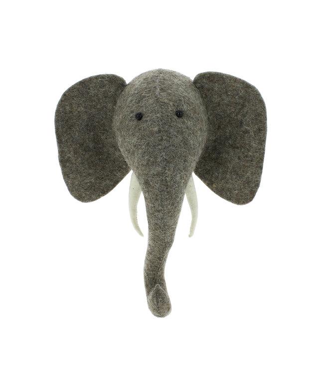 Animal head mini - elephant