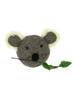Fiona Walker England Dierenhoofd mini - koala
