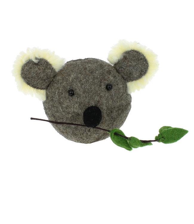 Animal head mini - koala