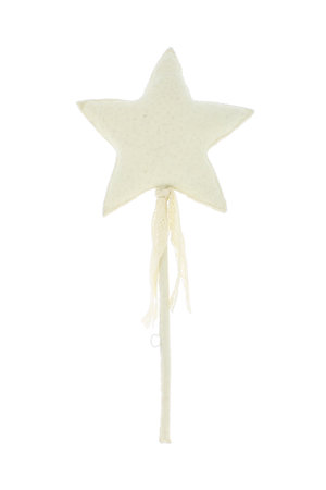 Fiona Walker England Muurdecoratie - ster met linten en kantwerk