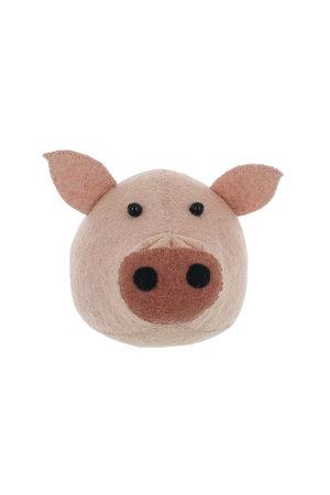 Fiona Walker England Dierenhoofd mini - varken