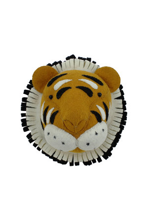 Fiona Walker England Animal head mini - tiger