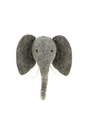 Fiona Walker England Animal head semi - elephant