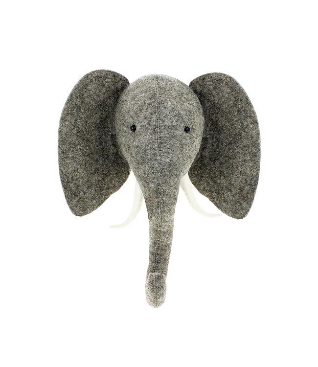 Dierenhoofd semi - olifant