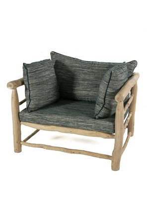 Rock The Kasbah Olive wood sofa 'in/out'