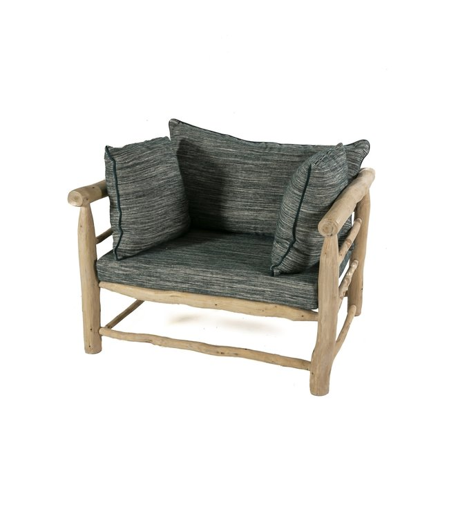 Olive wood sofa 'in/out'
