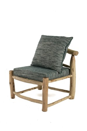 Rock The Kasbah Olive wood chair 'chauffeuse in/out'
