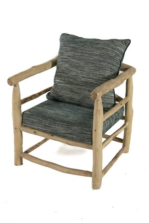 Rock The Kasbah Olive wood chair 'in/out'