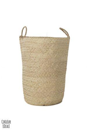 Rock The Kasbah Palm basket L, 'koffa tradi'
