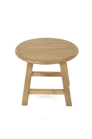 Round side table 4 legs