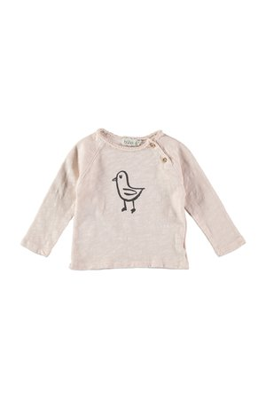 Buho Lenny chick t-shirt - dust rose