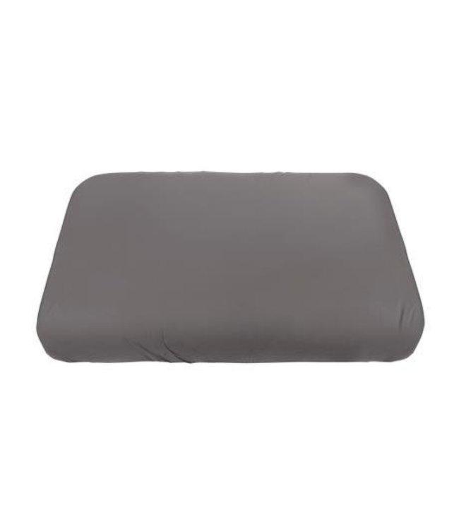 Jersey sheet - baby - classic grey