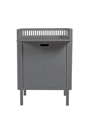 Sebra Sebra verzorgingsmeubel- dark grey