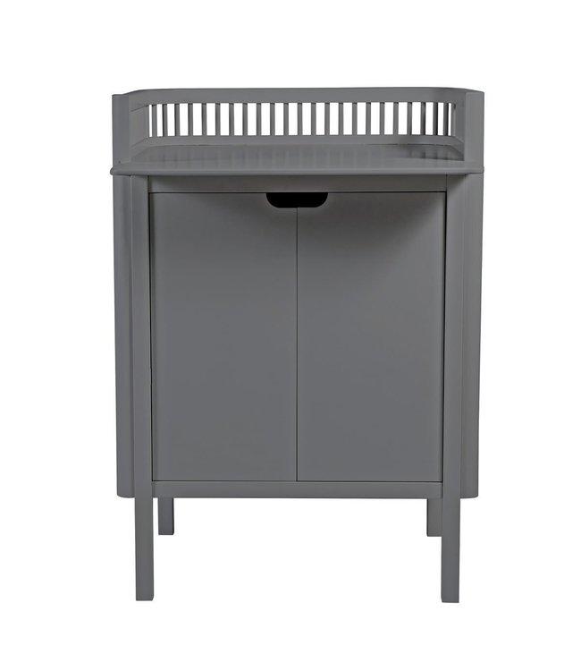 Sebra changing unit - dark grey