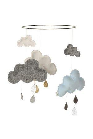Konges Sløjd Cloud mobile - blueberry