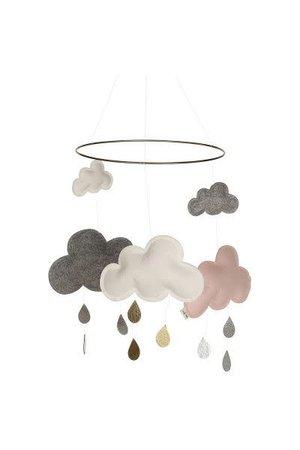 Konges Sløjd Cloud mobile - pinkberry
