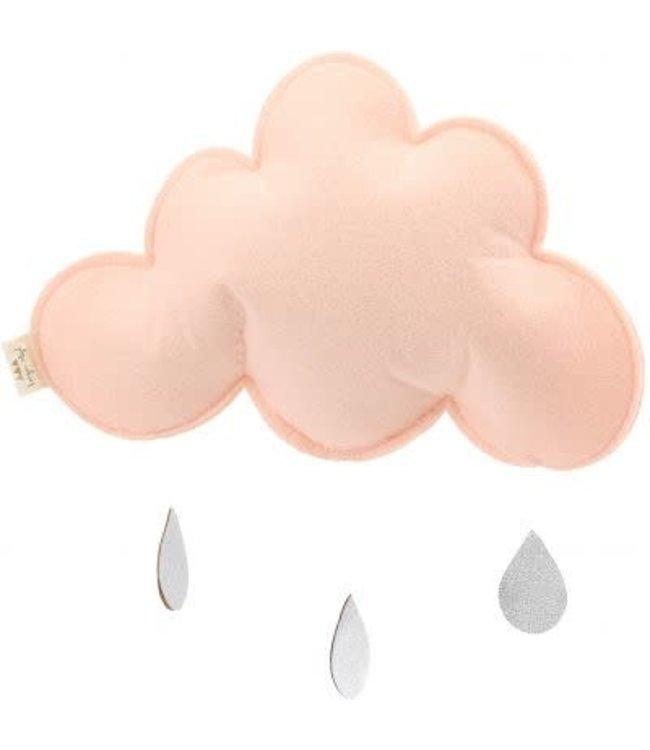 Single cloud mobile - pink