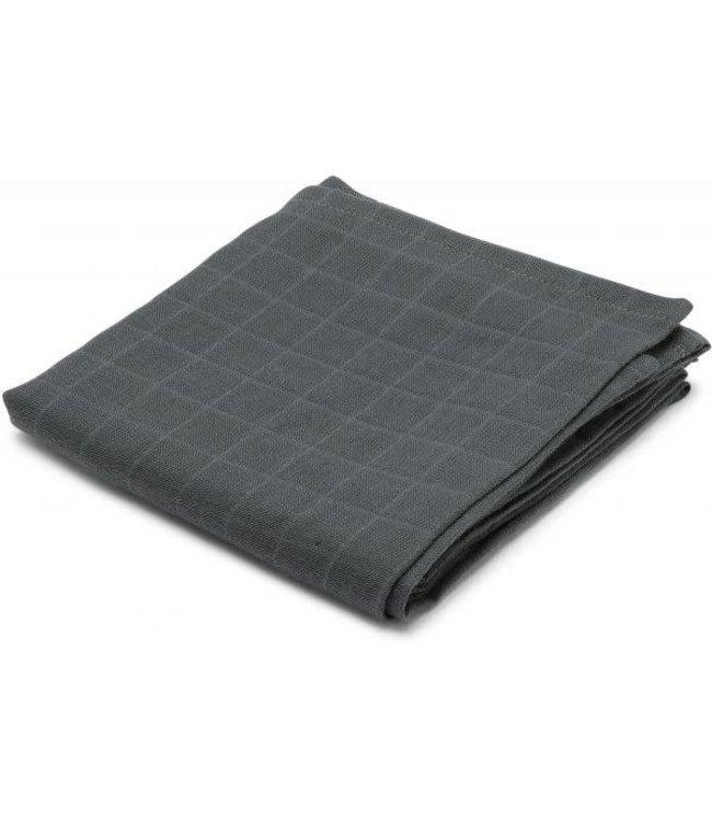 Muslin cloth - teal