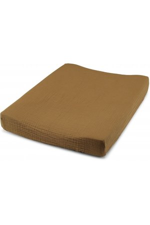 Konges Sløjd Fitted sheet for changing cushion - dark honey