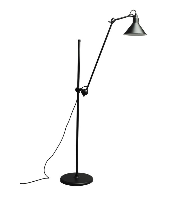 Lampe Gras 215 L zwart - vloerlamp