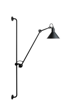 Lampe Gras N214 zwart - wandlamp