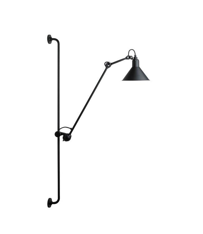 Lampe Gras 214 black - wall lamp