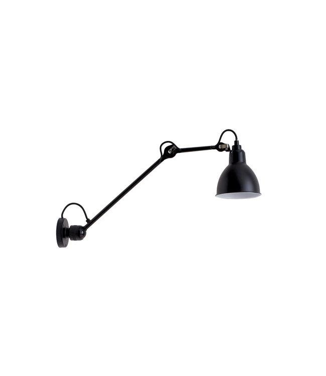 Lampe Gras 304 L 40 zwart - wandlamp