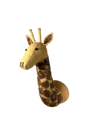 Fiona Walker England Animal head mini- giraffe