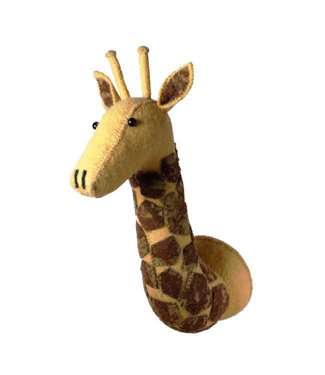 Animal head mini- giraffe