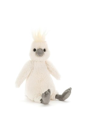 Jellycat Limited Bashful cockatoo