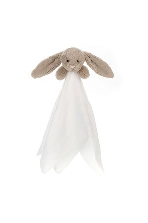 Jellycat Limited Bashful bunny muslin soother beige
