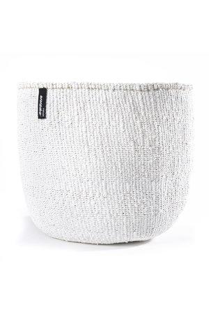 Kiondo basket - one color white