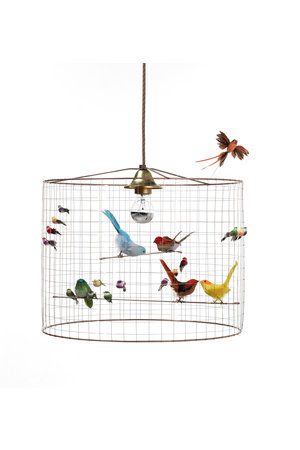 Challières Hanging birdcage