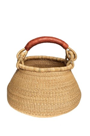 Bolga pot basket - naturel
