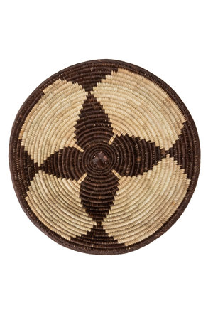 Ndebele palm mand Ø30 cm #5
