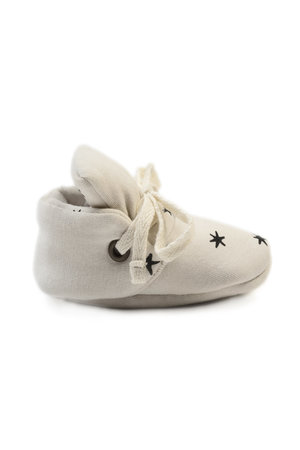 Kidwild Collective Organic baby booties - star