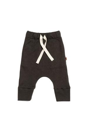 Kidwild Collective Organic drawstring pants - slate