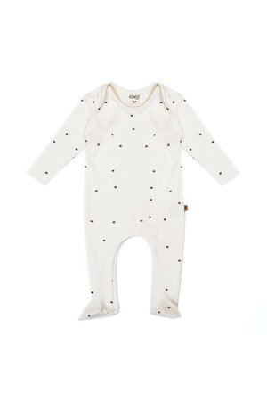 Kidwild Collective Organic footed jumpsuit - star