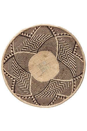 Binga basket white border Ø46-50cm