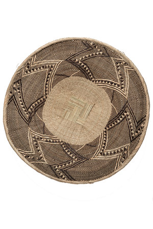 Binga basket white border Ø36-40cm