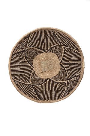 Binga basket white border Ø56-60cm