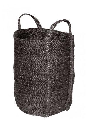The Dharma Door Wasmand jute - charcoal
